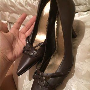 Gianni bini upper leather pumps shoes 6.5